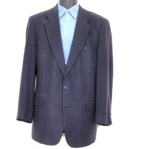 Brooks Brothers Blue Camel Hair Sport Coat